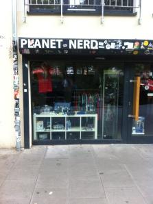 Una de las tiendas cachondas de Sternschanze: Planet Nerd!