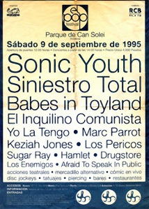 Cartel del Pop Festival de Badalona 1995 (la imagen es de http://xavigorro.blogspot.ch/2013/01/afraid-to-speak-in-public.html)