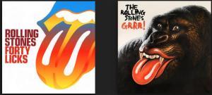 A la izquierda el recopilatorio del 40 aniversario. A la derecha, la del 50 aniversario. En cuestión de portadas, salimos perdiendo...