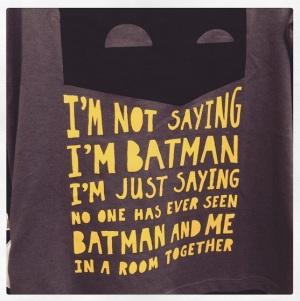 Batman! (by @carloskarmolina)